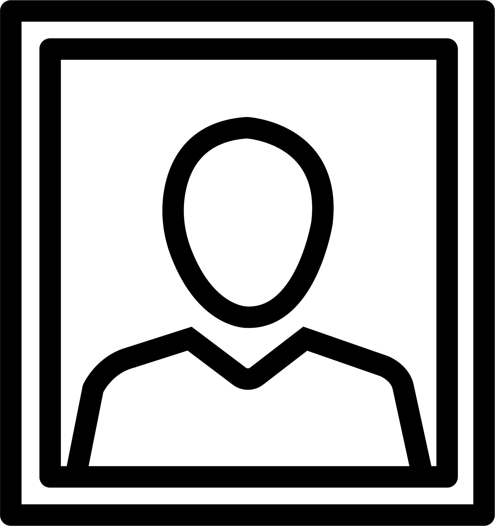 Pasfoto-icon