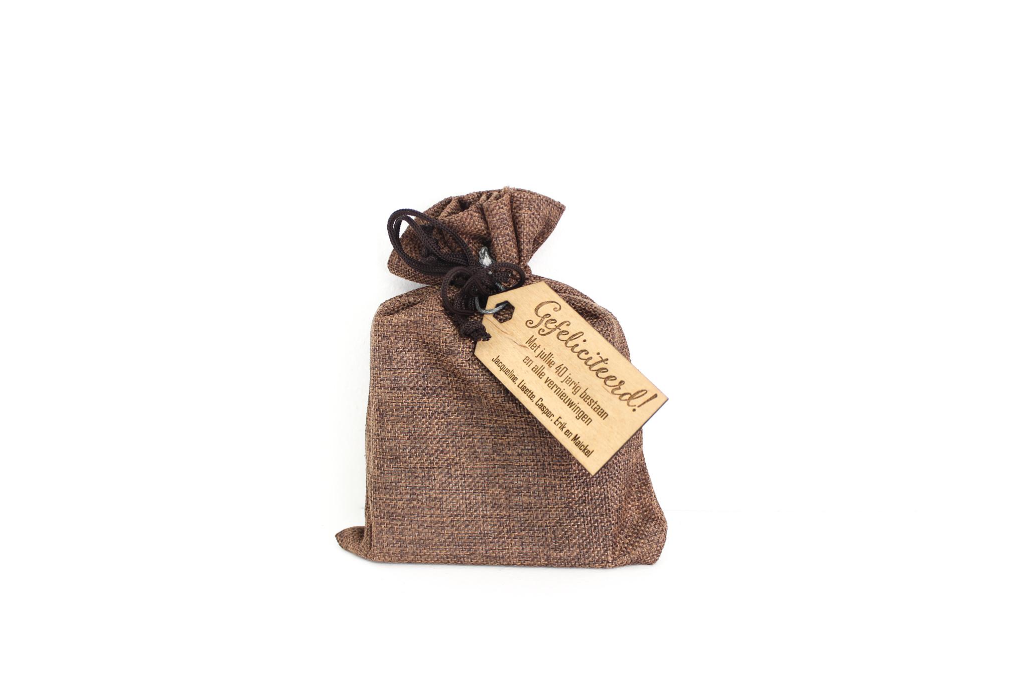 Graveren-cadeau-label